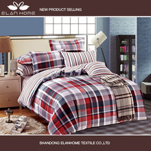 china 3d printed 100% brushed polyester fabric bedsheet
