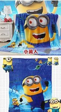 Minions Coral Fleece Blanket/Sheet