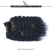 ZSY aaaaa grade raw bresilienne human hair weaving