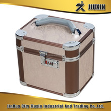 Hot cheap high quality aluminium multi-functional makeup code case, fashion style jewelry case, boutique storage case