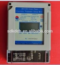 Tarjeta inteligente digital de exportación de importación contador de la luz