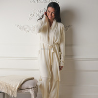 Wholesale couple winter knit cashmere pajamas turkey