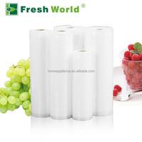 Sous vide vacuum bag resealable food boiling plastic bag for food save