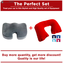 The Perfect Set Seat Cushion+Neck Pillow