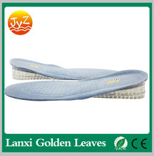 fashion silicone gel height increase insole masaaging insoles shoe with gel heel cushioning
