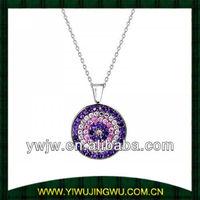 2014 lastest evil eye necklaces jewelry