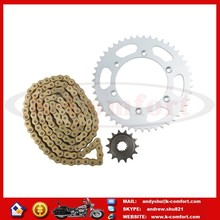 KCM463 Gold O-Ring Chain and Sprocket Kit For Suzuki DR350 USA 1990-1993