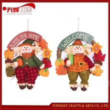 Harvest festival decoration, decoration harvest scarecrow widgets