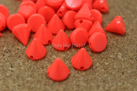 Клепки для одежды Smile ABS 10 /orangeplastic Nailhead DIY fIphones 500  10mm Orange