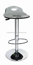 Modern bar chair design metal bar stool with footrest for sale