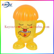 Cool design plastic cup from KAYOU ShenZhen