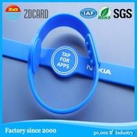 ZDCARD Original Customize Adjustable Silicon Wristband