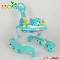 plastic foldable rolling infant baby walkers / baby carrier from manufacturer