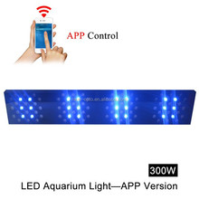 2015 recommendable 300w marine led reef lights white/blue/ uv/red/ green
