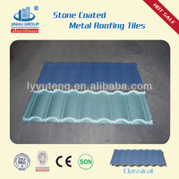 copper colored metal roof-stone tile roofing made in china