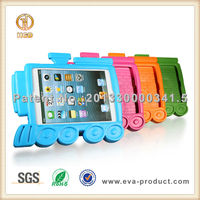 Light Weight Children's Train Series Non-Toxic EVA Foam Handle Shockproof Tablet Case For iPad Mini