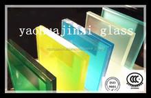Cubriendo el vidrio con una capa de color