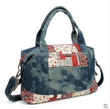 Guangzhou Denim shoulder bag travel bag manufacturer