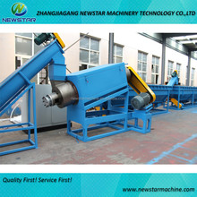 Waste PE PP dirty film washing production line