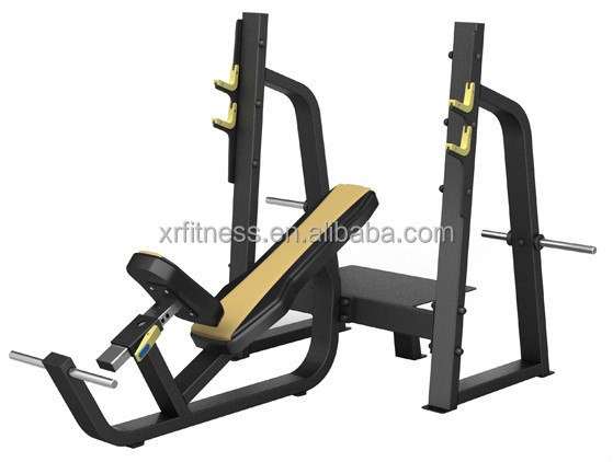 Commercial Gym Exercise Machine Olympic Decline Bench XP27