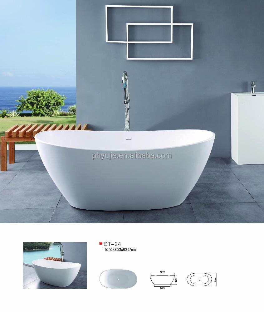 Limestone freestanding bathtub high end resort bath buy for Limestone bathtub