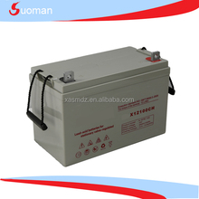 deep cycle dry charged lead acid battery