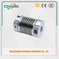 RD3-BC Bellows Couplings Transmission Parts bellows coupling for cnc machine