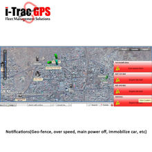 gps taxi dispatch system supports google map