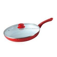 fashional ceramic forged frying pan cookware new as seen on tv