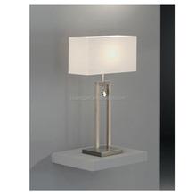 square fabric cover, fashion modern livingroom table lamp, bedroom light
