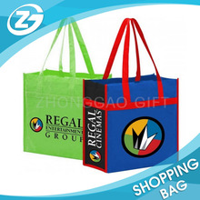 New Design Hot Sale Eco Foldable High Quality Promotional Printed Reusable Colorful Custom Non Woven Shopping Tote Bag