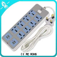 universal tower master slave electric australia usb power strip With circuit breaker