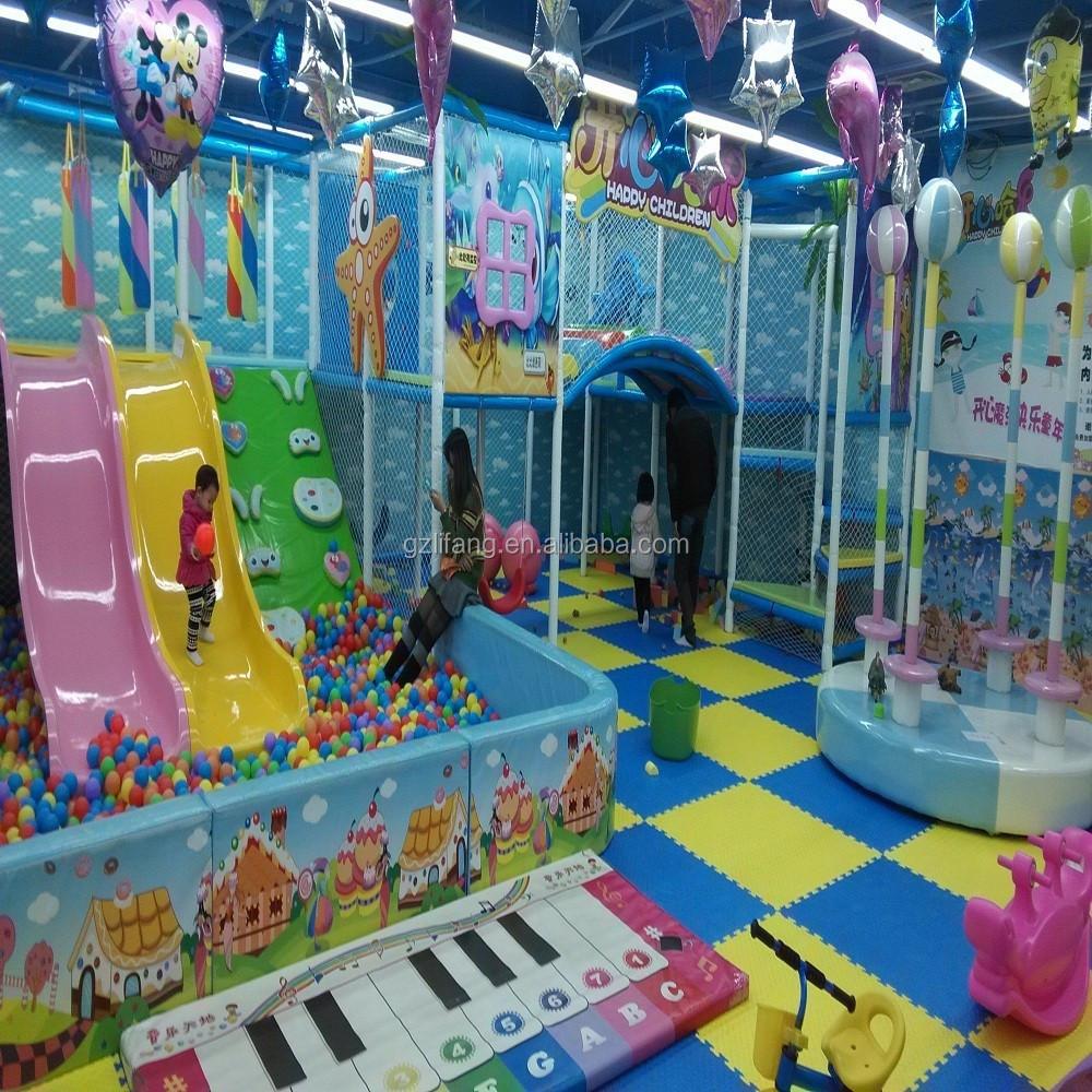 Lifang indoor kids preschool playground equipment children for Indoor gym equipment for preschool