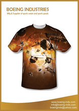 New sublimation t-shirt/all over sublimation printing t-shirt/dye sublimation t-shirt printing BI-3057