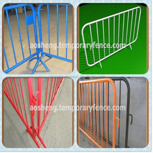 High quality hot sale competitive price used aluminum fence/used crowd control barriers/temporary fence barricade