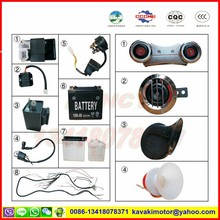 Tricycle three wheel Motorcycle 5 electrical parts CDI & high tension bundle & relay start & flasher & regulator