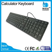 Trade Assurance Best Wired Slim Arabic Keyboard with Calculator Shortcuts