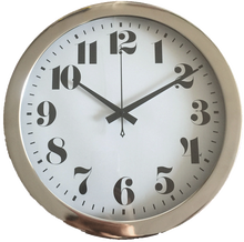 Large display digital wall clock for home decoration