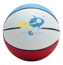 best purchase multi color rubber basketball in bulk