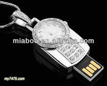 ring clock mechanical jewelry for sale, jewelry clock necklace, charms and pendants usb