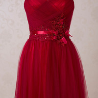 LF1562 new arrival Sweetheart long crystal party dresses