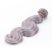 body wave unprocessed indian hair weaving 6a unproessed brazilian body wave hair artificial pussy grey human hair weaving