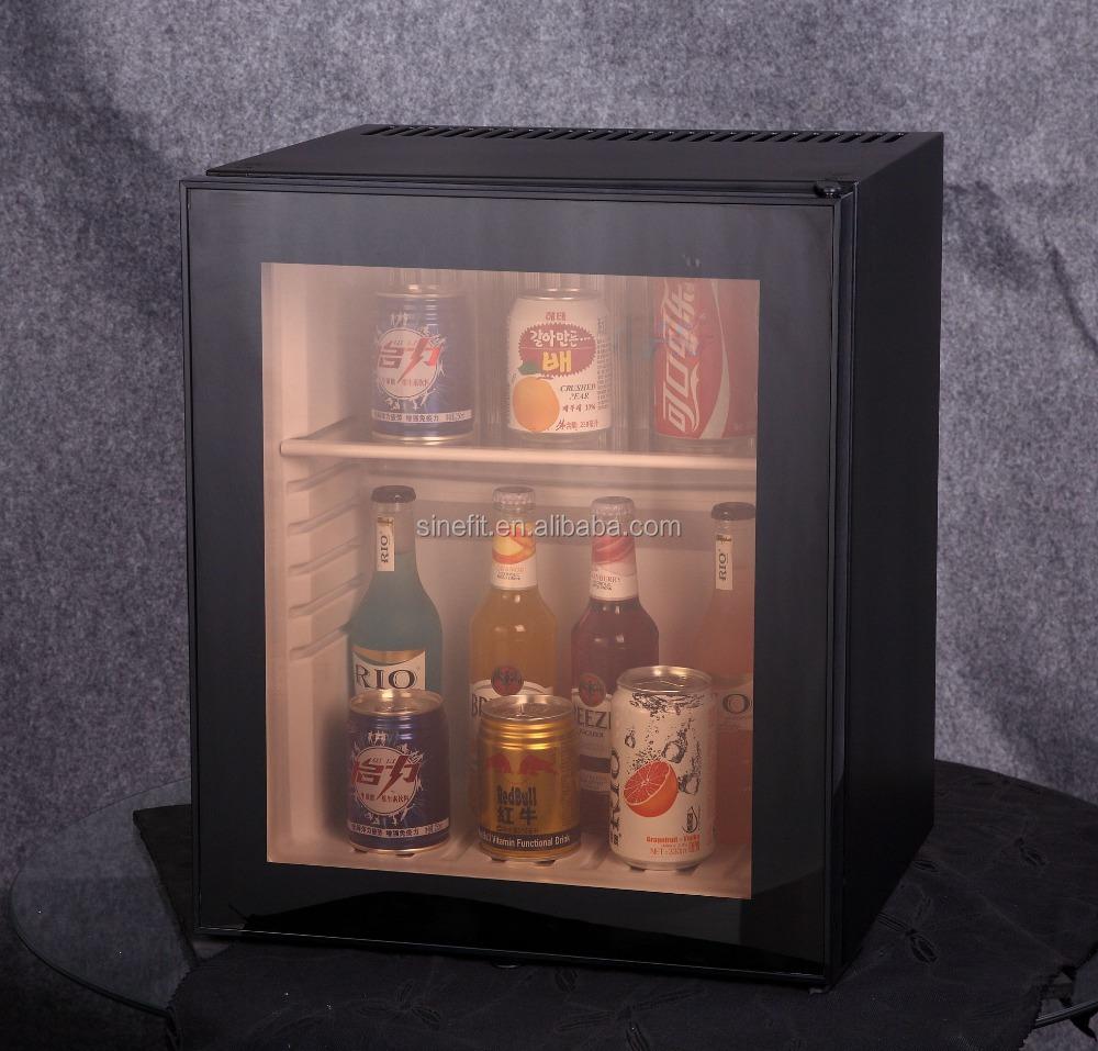 mini fridge glass door