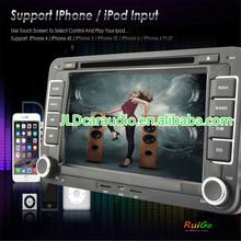 2 din VW PASSAT V6 wince8.0 car DVD with Radio,GPS,Ipod,Bluetooth,SWC,PIP,3D UI
