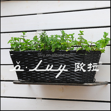 wicker decorative basket for gift