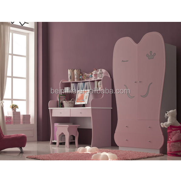 Children Kids Furniture Royal Princess Carriage Bed (936T-01)