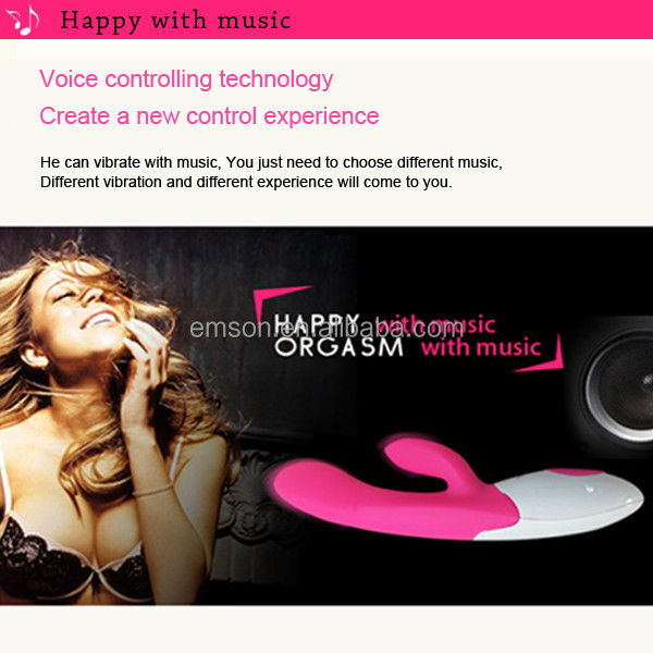 2014 Emson personal massager sex products, medical silicone sexy toy sex power