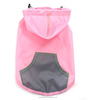 raincoat dog hoodie / wholesale dog coat / waterproof for dog