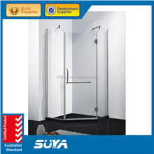 Shower room with wholesale price simple portable standard size shower room