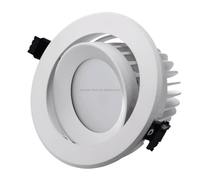 Frosted tempered glass adjustable 35w original C REE COB super bright IP65 led downlight waterproof